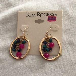 Kim Rogers gold earrings